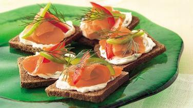 Salmon Crostini
