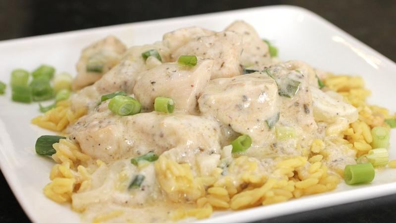 Sour Cream and Onion Skillet Chicken