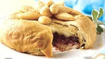 Crescent-Wrapped Cranberry and Brie