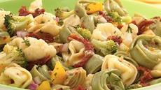 Italian Tortellini-Vegetable Salad Recipe