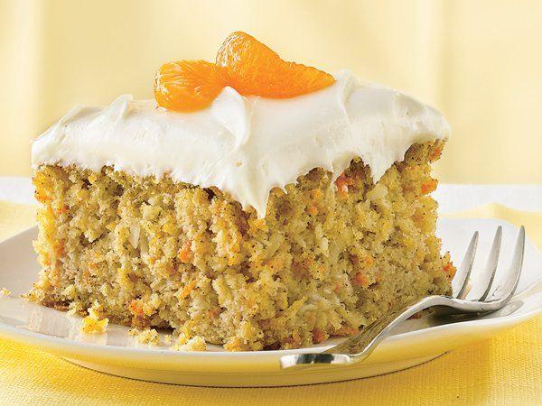 Pillsbury Carrot Cake With Mandarin Oranges
