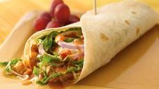 Thai-Style Mexican Chicken Wraps Recipe