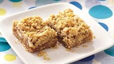 Caramel Apple-Nut Bars Recipe