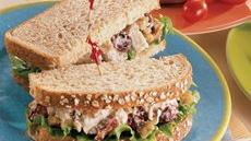 Cherry-Chicken Salad Sandwiches Recipe