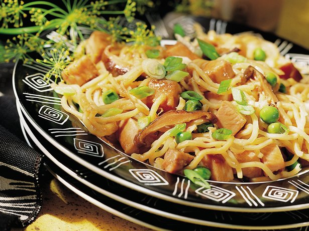Smoked Turkey Lo Mein