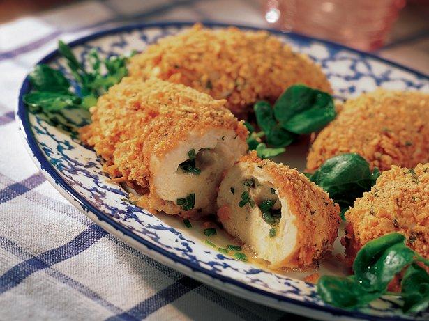 Garlic Chicken Kiev recipe from Betty Crocker