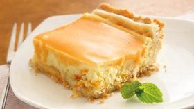 Orange Cream Dessert Squares Recipe