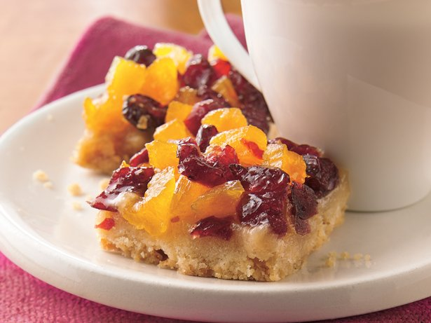 Cranberry-Apricot Bars