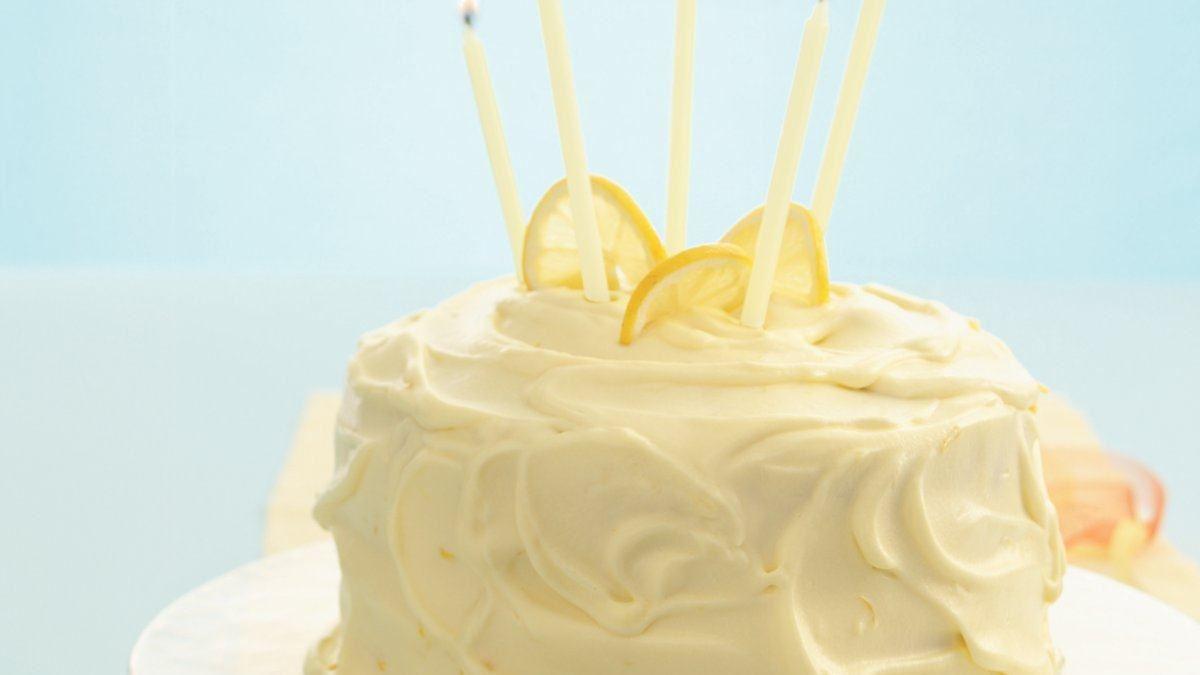 Lemon Mousse Cake - Life Made Delicious