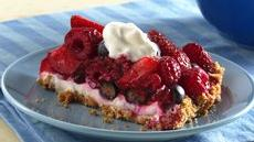 Mixed-Berry Cream Tart Recipe