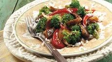 Portabella-Broccoli Stir-Fry Recipe
