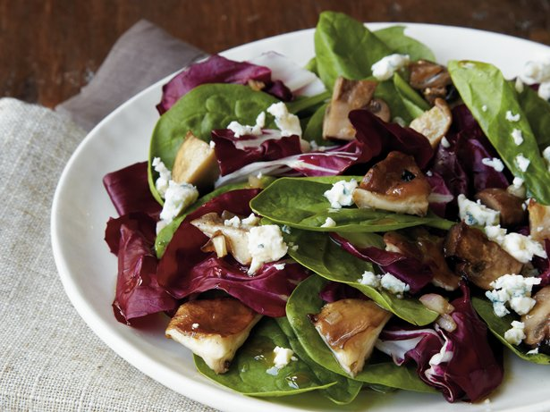 Roasted Mushroom Salad