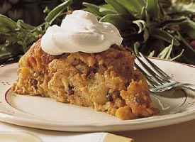 Pumpkin Bread Pudding (&lt;I>lighter recipe&lt;/I>)