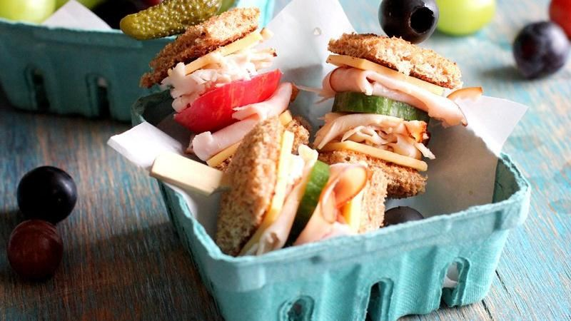 Club Sandwich Skewers