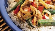 Louisiana Chicken and Okra Saut Recipe