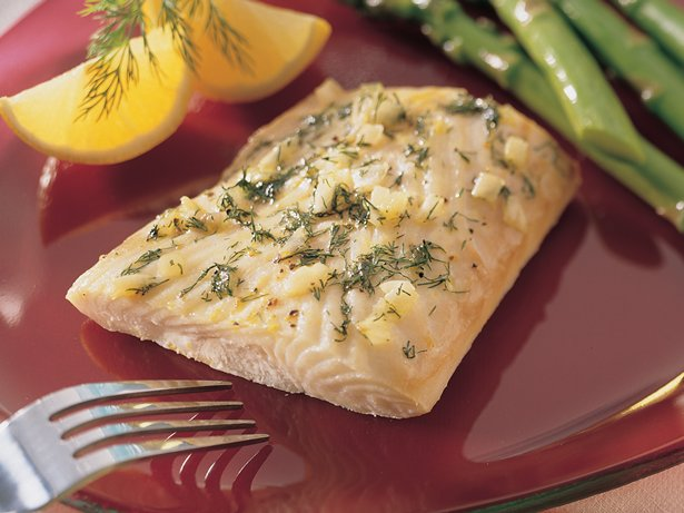 Dilled Lemon-Pepper Halibut