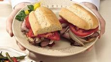 Grilled Steak and Onion Sandwiches Recipe
