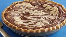 Peanut Butter Swirl Brownie Pie Recipe