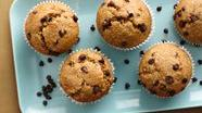 Healthified Banana-Chocolate Chip Muffins