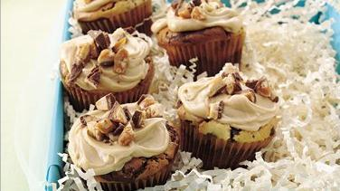 Chocolate Candy Cupcakes