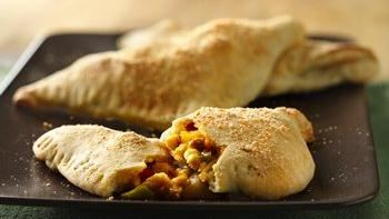 Egg-Stuffed Breakfast Calzones