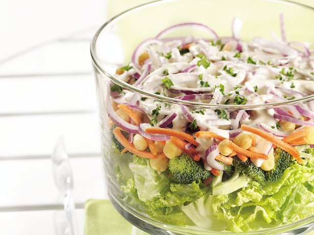 Layered Salad Supreme