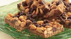 Peanut Brittle Bars Recipe