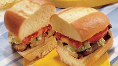 Portobello Muffuletta Sandwiches