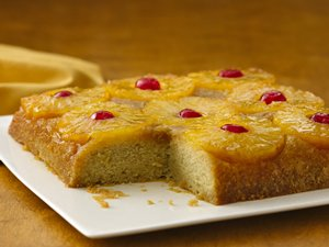 Gluten&#32;Free&#32;Pineapple&#32;Upside&#32;Down&#32;Cake