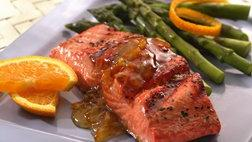Spicy Balsamic Salmon