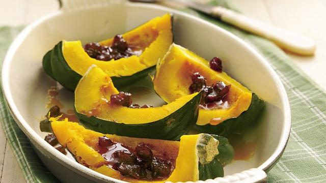 Acorn Squash with Dates