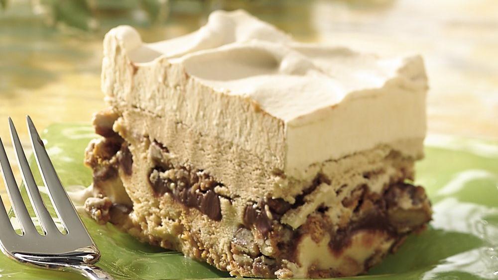 Dulce De Leche-Mocha Ice Cream Dessert recipe from Pillsbury.com