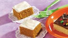 Pumpkin Snack Bars Recipe