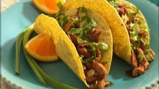 Spicy Chinese Chicken Tacos Recipe