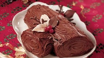 Good Tidings Yule Log