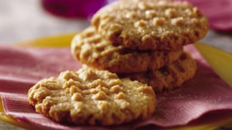 New-Fashioned Peanut Butter Cookies