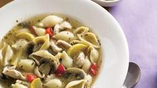 Chicken Pasta Soup Recipe