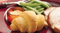 Pumpkin Dinner Crescents Recipe