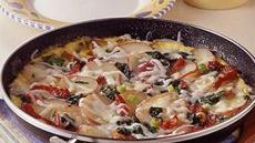 Fresh Spinach and New Potato Frittata Recipe