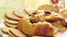 Raspberry Baked Brie Recipe