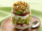 Crunchy-Topped Strawberry-Kiwi Parfaits