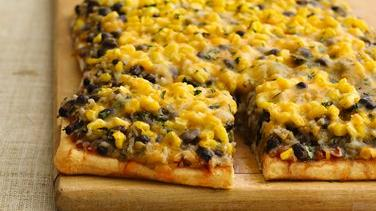 Open-Face Burrito Pizza