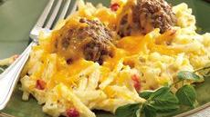 Italian Meatball and Potato Bake Recipe