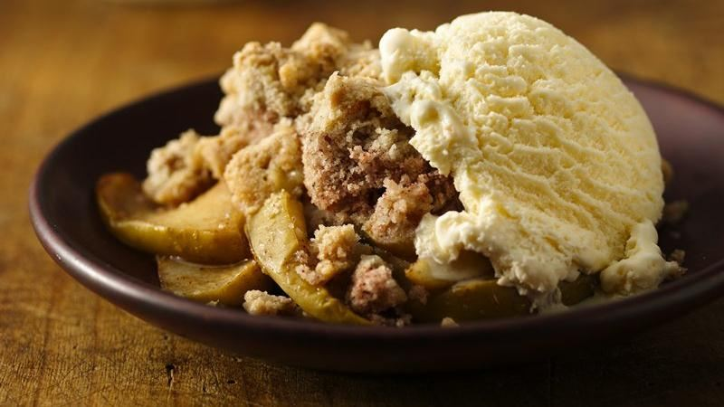 Apple Crisp With Yellow Cake Mix Topping