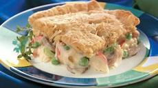 Seafood Crescent Casserole Recipe