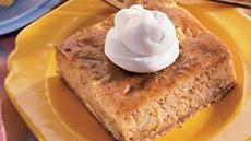 Sour Cream Apple Squares Recipe