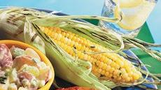 Grilled Herbed Corn Recipe