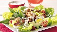 Cobb Salad with Cucumber-Ranch Dressing Recipe