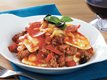Slow Cooker Pizza Ravioli Mix Up