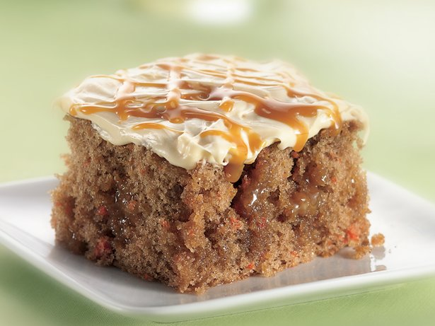 Caramel Carrot Cake